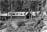 Chalet (Visitor Center) in July 1927.