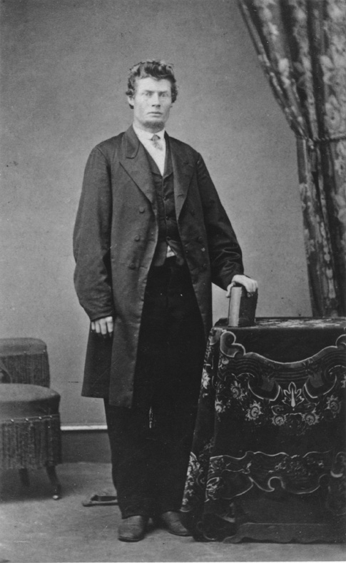 Elijah Davidson, when he was a younger man