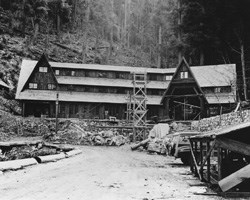 the Chalet, 1942