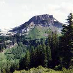 a view of Marble Mountains Wilderness