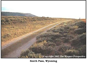 Photo image of South Pass area in Wyoming.