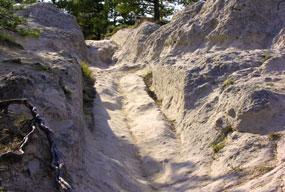 Guernsey Ruts Oregon National Historic Trail U S