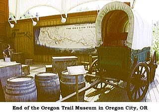 Photo image of the End of the Oregon Trail Interpretive Center in Oregon City, Oregon.
