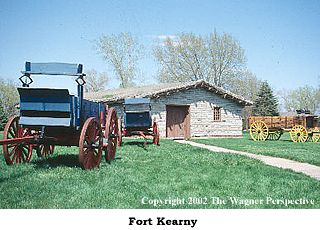 Photo image of Fort Kearny.