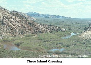 Photo image of Three Island Crossing.
