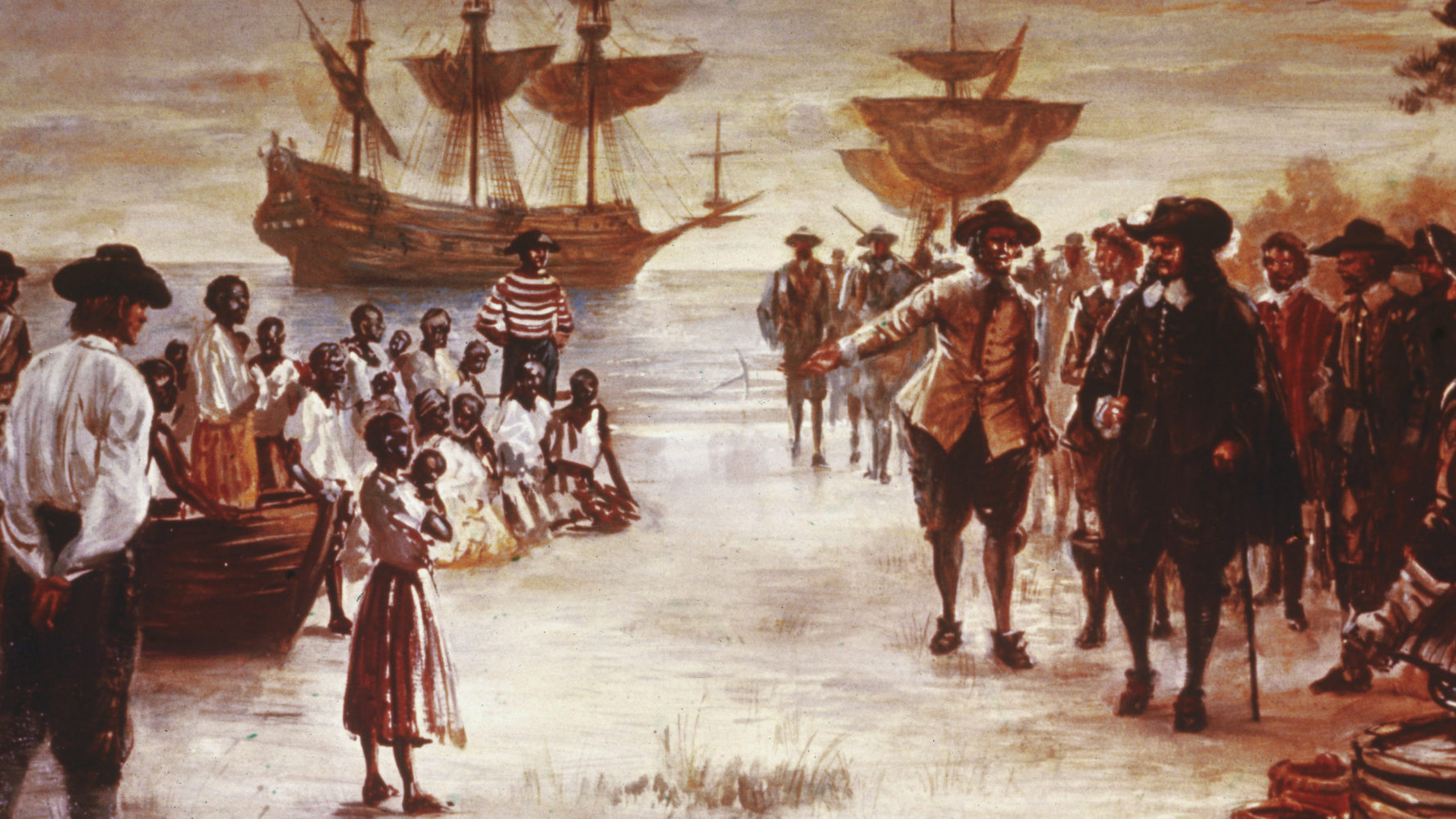 Arrival of first Africans to English North America