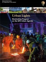 Publication cover of the Urban Lights publication