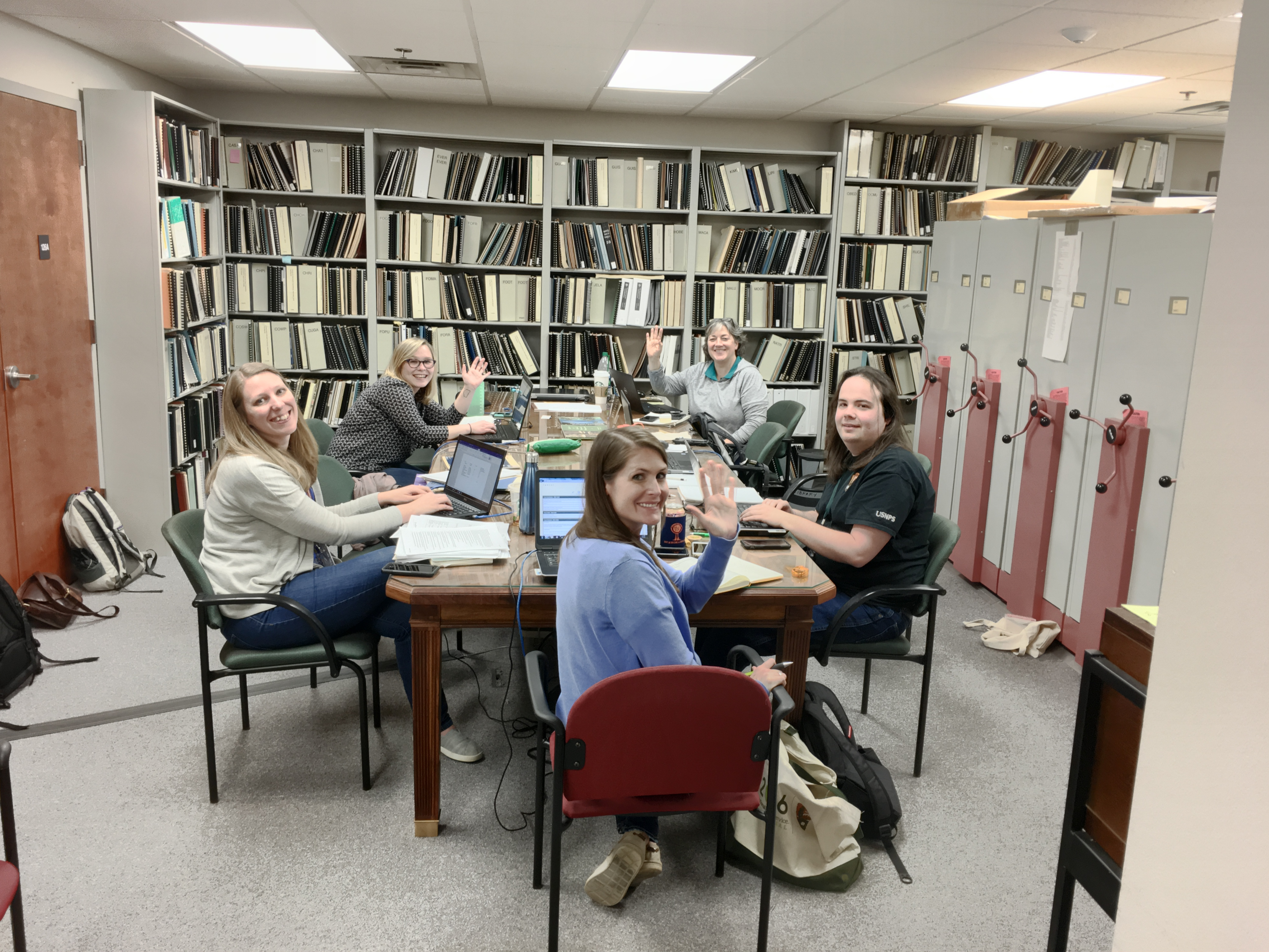 Collection Management Planning Team Visits SEAC for Two Weeks