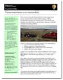 Transportation Safety Factsheet