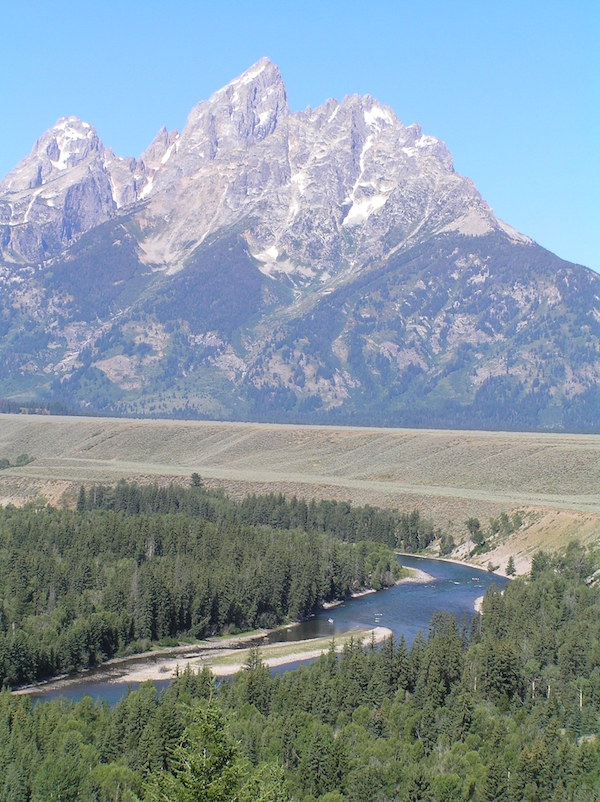 Snake River Overlook in Grand Teton National Park. NPS photo.