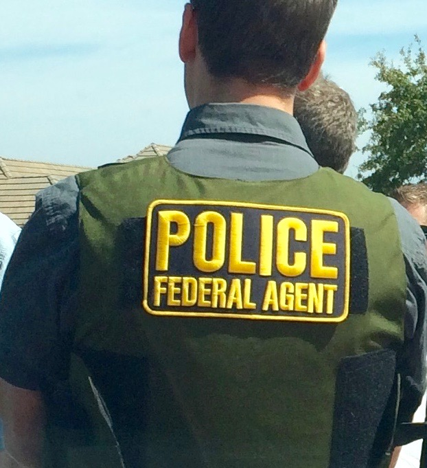 ISB Special Agent attends an operational briefing. NPS photo by the Investigative Services Branch.