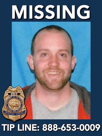 Missing person: Derek J Lueking