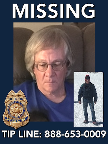 Missing person James Pruitt