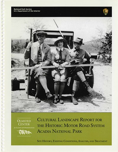Cover of CLR for Historic Motor Road System at Acadia National Park