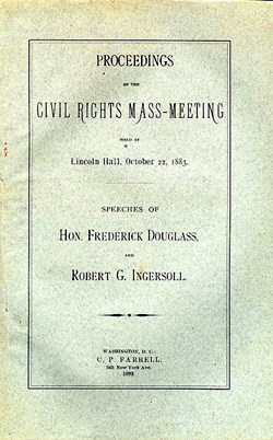 Proceedings of the Civil Rights Mass-Meeting