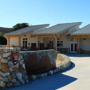 West Side Visitor Center at Pinnacles National Park, California.