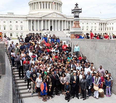 Participants in the Let's Talk About Our Dream: A 400 Year Journey of Trials, Triumphs, and Trailblazing at the U.S. Capitol