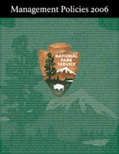 Photo of NPS Management Policies cover