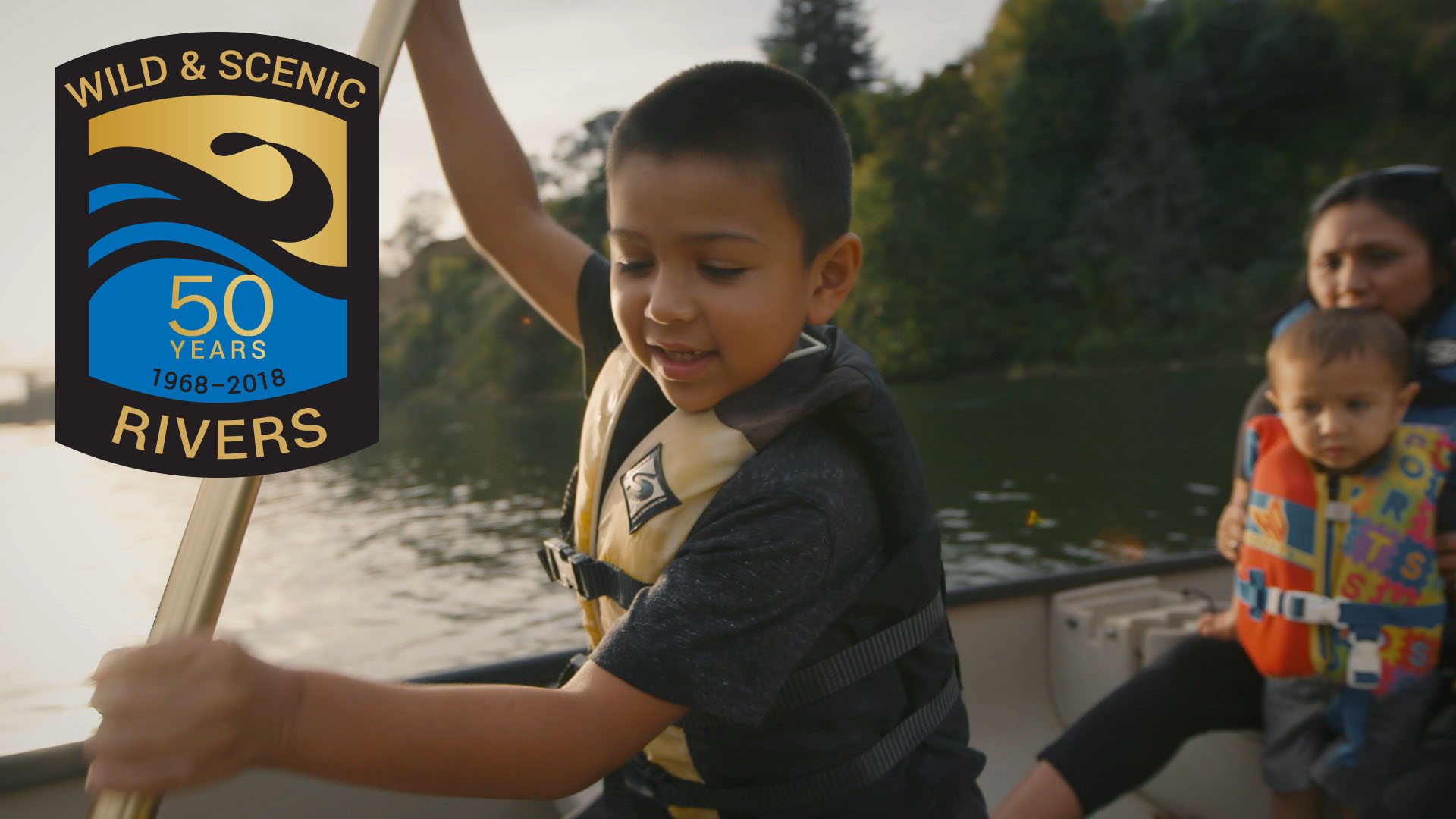 Image link to Wild and Scenic Rivers 50th Anniversary video