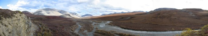 The Salmon River flowing through remote wilderness.