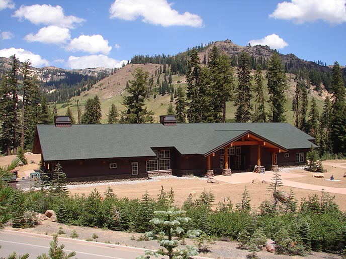 Lassen Volcanic National Park, Kohm Yah-mah-nee Visitor Center
