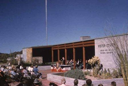 dedication of the Organ pipe cactus visitor center