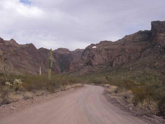 Drive a lonely road, towards a canyon with a surprise.