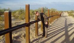 International Border Vehicle Barrier - Organ Pipe Cactus National Monument (U.S. National Park Service)
