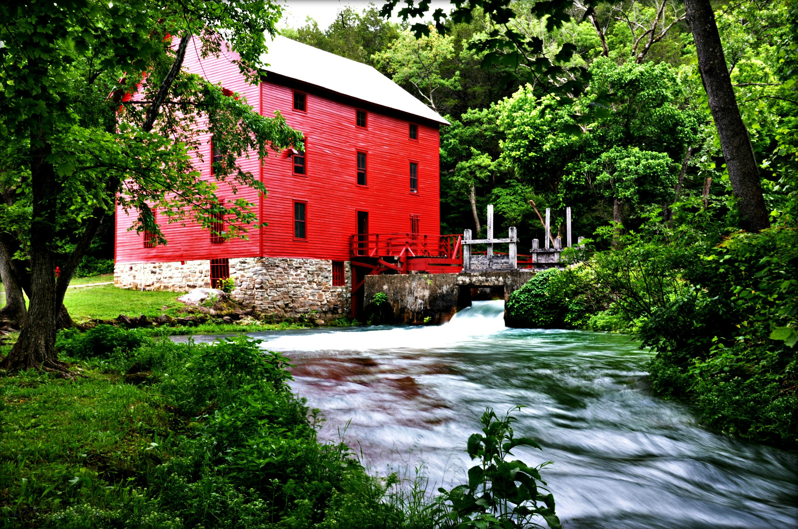 Alley Mill Ozark National Scenic Riverways Us National Park