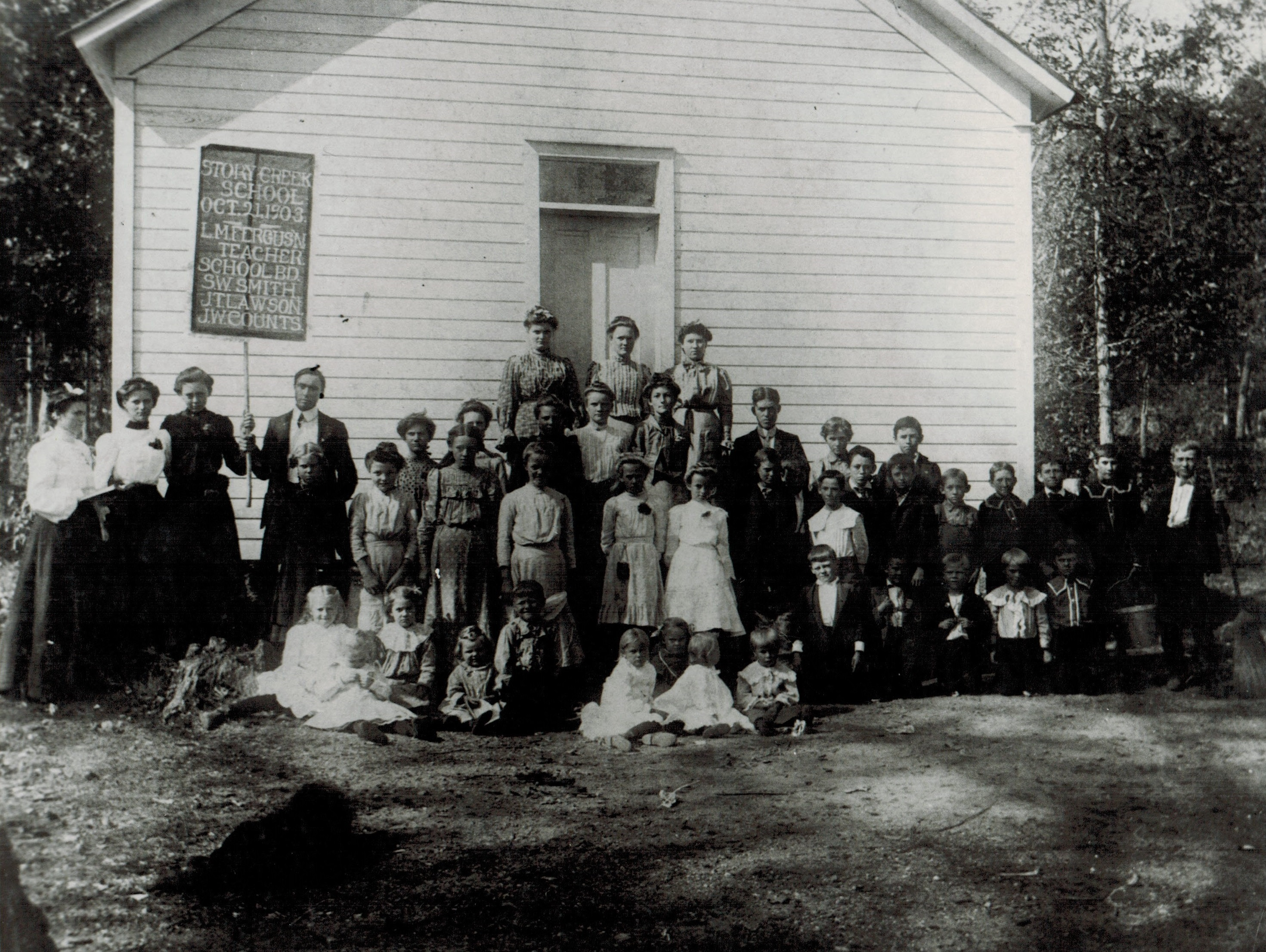 Story Creek School 1903