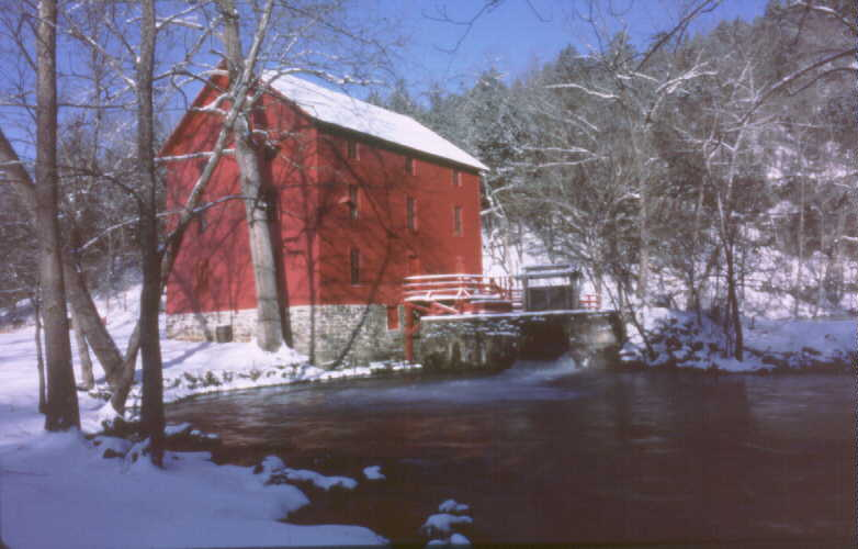 Alley Mill in winter