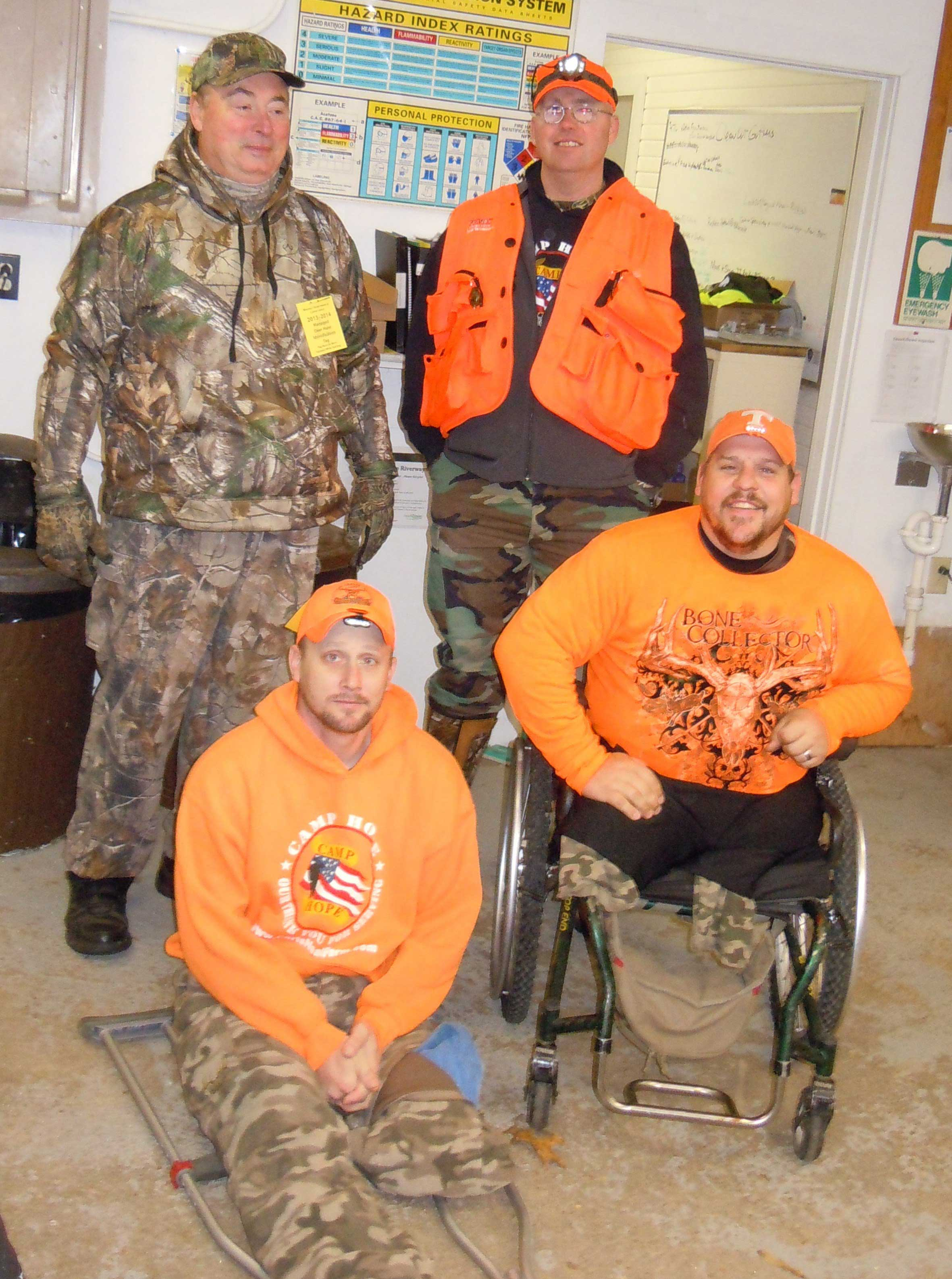 Wounded-Warrior-Hunt-Participants