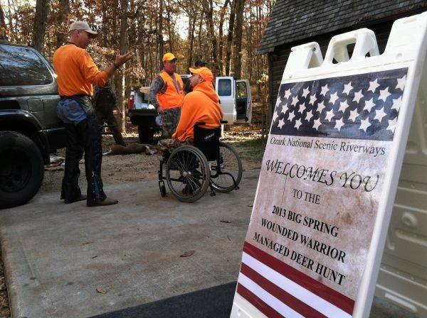 Wounded Warriors hunting