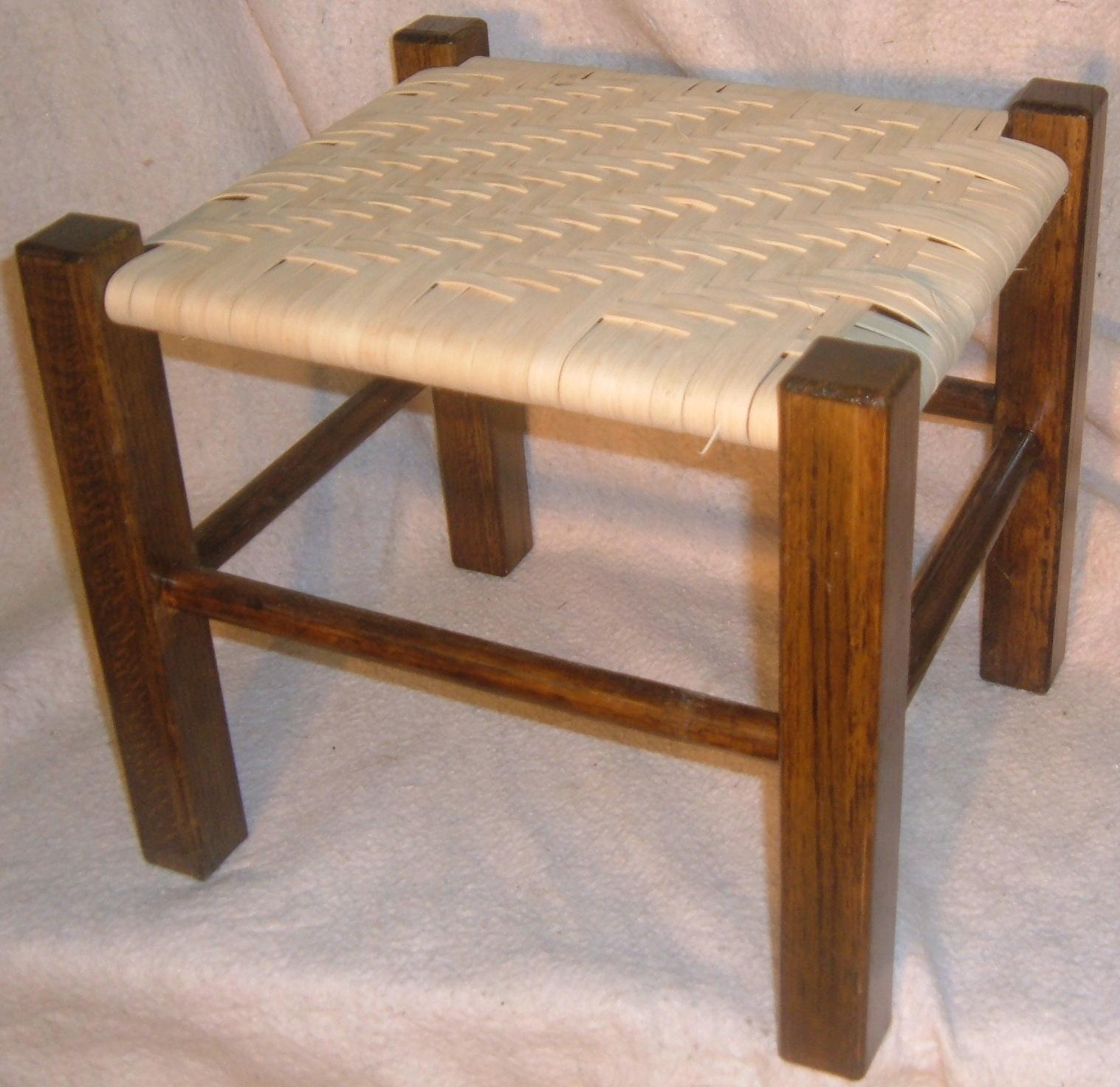 Chair Caning Stool
