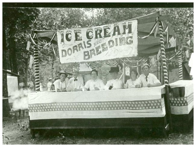 Historic Ice Cream Stand at Alley Spring