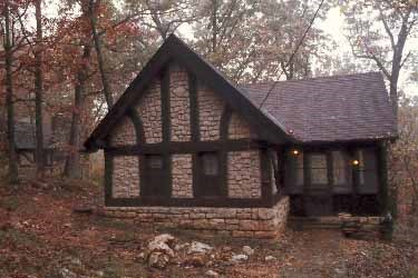 CCC Cabin at Big Spring