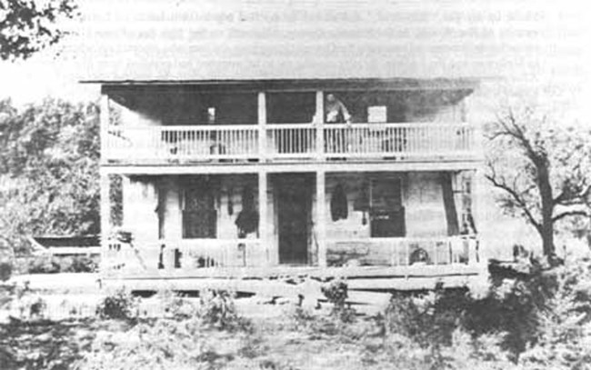 historic picture of the chilton house