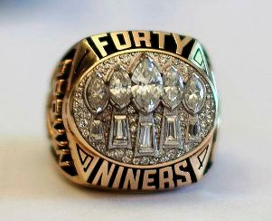 49ers Super Bowl ring