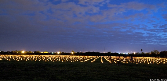 Memorial Illumination at Resaca de la Palma Battlefield