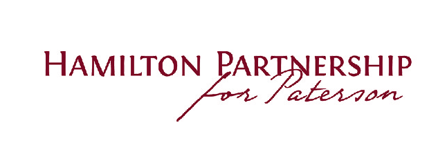 "The words ""Hamilton Partnership for Paterson"""
