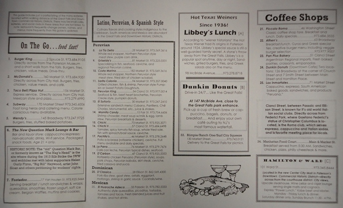 Restaurant Guide Page 2