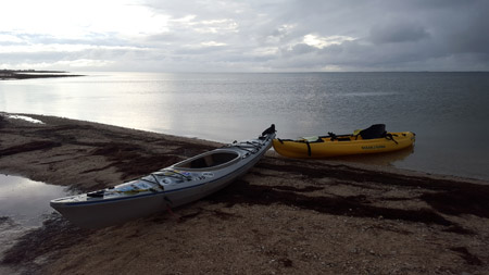 Kayaking the Laguna Madre