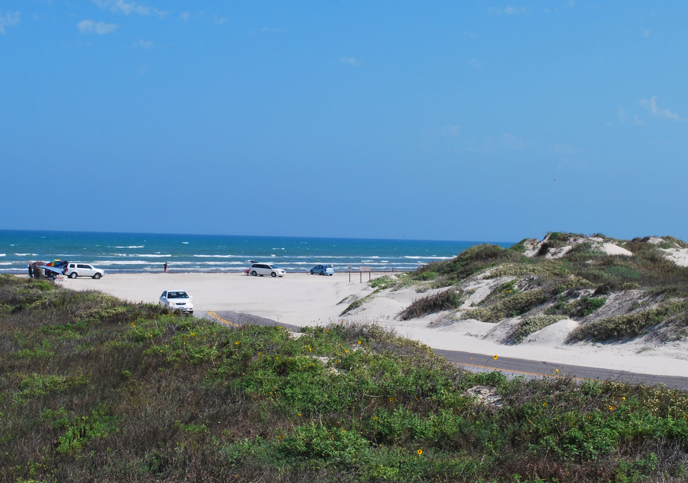 South Beach Padre Island National Seashore U S National