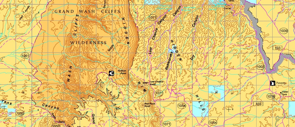 Map Of Arizona Strip.Maps Parashant National Monument U S National Park Service