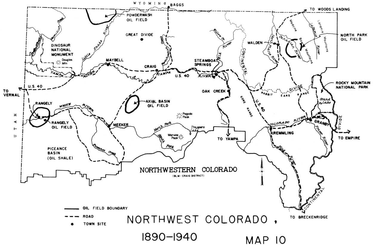 Nw Colorado Map.Blm Cultural Resource Series Colorado Cultural Resources Series No