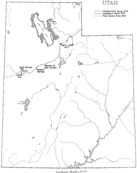 the pony express stations of utah in historical