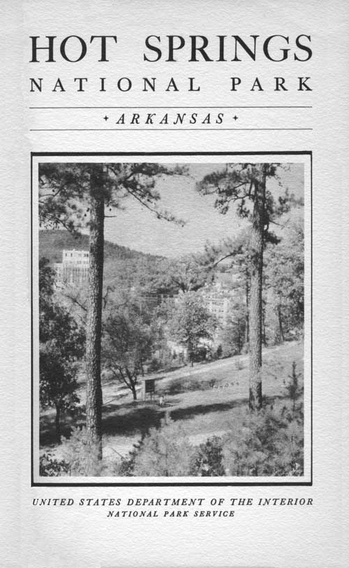 Hot Springs Np Rules And Regulations 1936