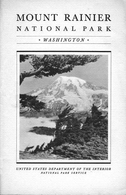 Mount Rainier Np Rules And Regulations 1936