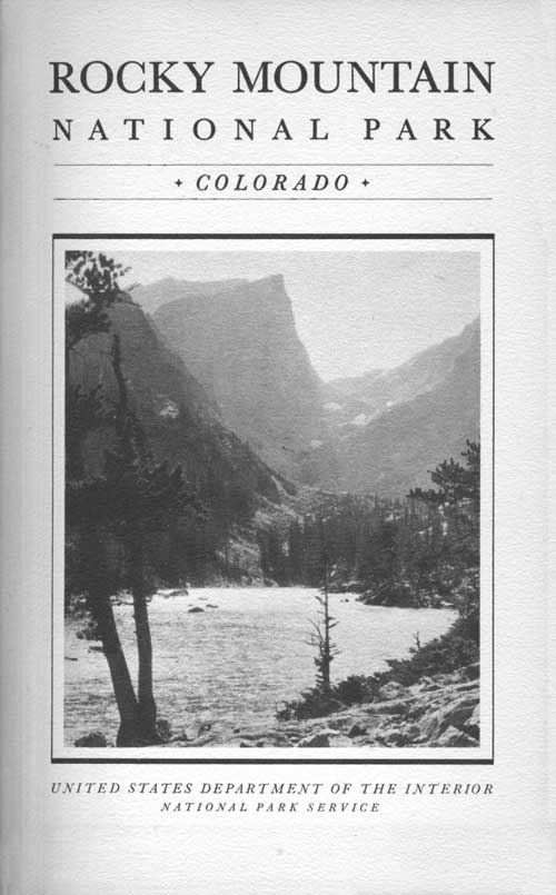 Rocky Mountain Np Rules And Regulations 1936