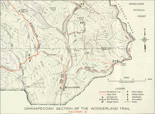 Mount Rainier NP Trail Guide 1941